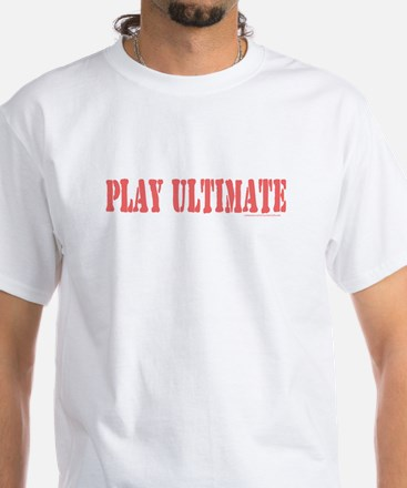 PLAY ULTIMATE White T-shirt