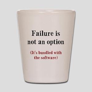Software Failure Shot Glass