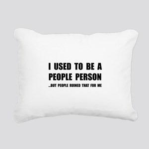 People Person Rectangular Canvas Pillow