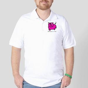 Senor Pirate Piggy Golf Shirt