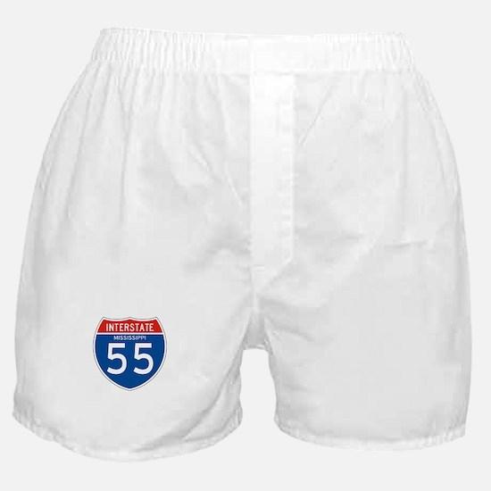 Interstate 55 - MS Boxer Shorts