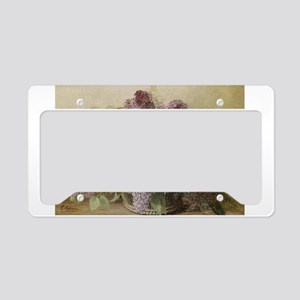 Beautiful Bouquet of Lilacs License Plate Holder