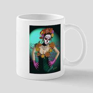 Flowers - Dia de los Muertos Mug