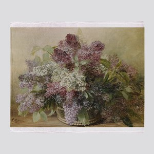 Beautiful Bouquet of Lilacs Throw Blanket