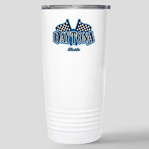 Daytona Flagged Stainless Steel Travel Mug
