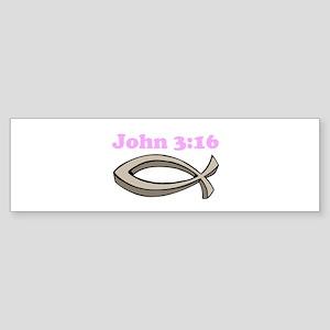 John 316 Bumper Sticker