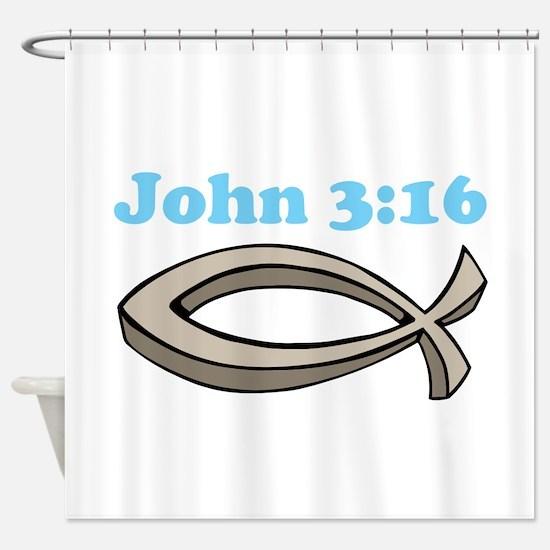 John 316 Shower Curtain