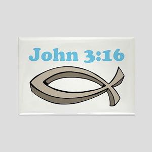 John 316 Rectangle Magnet