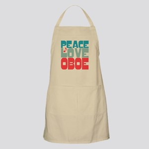 Peace Love Oboe Apron