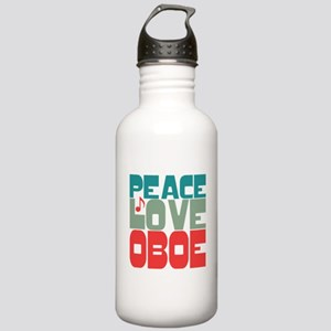 Peace Love Oboe Stainless Water Bottle 1.0L