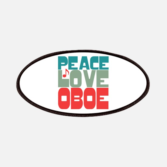 Peace Love Oboe Patches