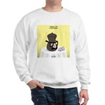 Funeral for a Cartoonist Sweatshirt