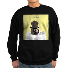 Funeral for a Cartoonist Sweatshirt (dark)
