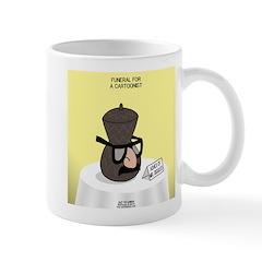 Funeral for a Cartoonist Mug