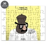 Funeral for a Cartoonist Puzzle