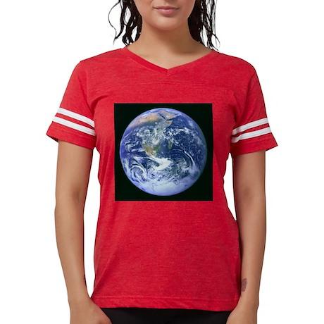 Planet Earth Womens Football Shirt
