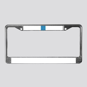 Blue Sports License Plate Frame
