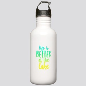 At the Lake Stainless Water Bottle 1.0L
