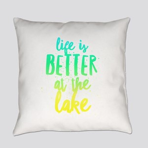 At the Lake Everyday Pillow