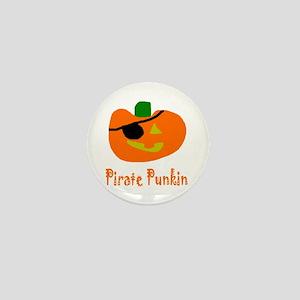 Senor Pirate Punkin Mini Button