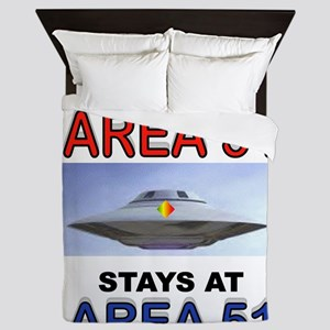 AREA 51 Queen Duvet
