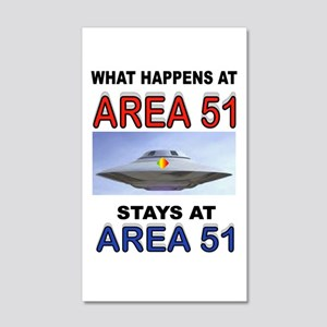 AREA 51 Wall Decal