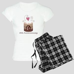 6th Anniversary Cake Women's Light Pajamas