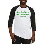 Save The World Baseball Jersey
