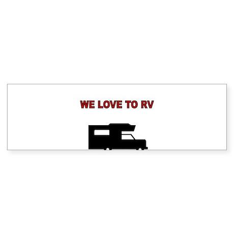 Funny rv bumper stickers cafepress rh cafepress com i love my ra i love my plane