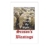 Season's Bleatings Postcards (Package of 8)