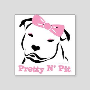 Pretty N' Pit Logowear Rectangle Sticker