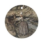 Rackham's Brother & Sister Ornament (Round)