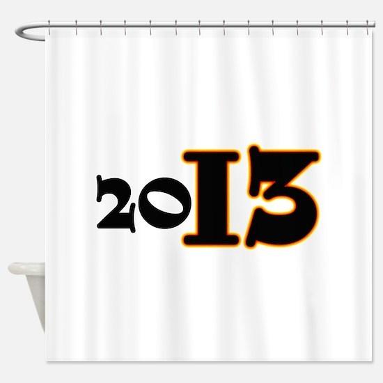2013 Shower Curtain