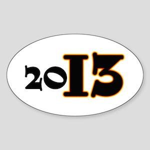2013 Sticker