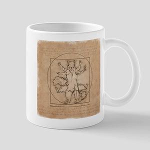 Vitruvian Squirrel Mug