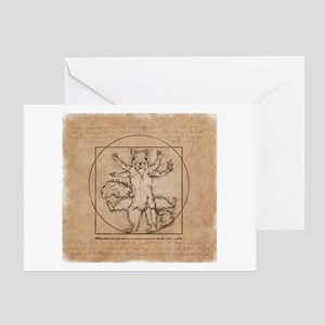 Drawing greeting cards cafepress vitruvian squirrel greeting card m4hsunfo