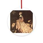 Rackham's Lady and Lion Ornament (Round)