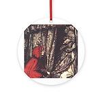 Rackham's Red Riding Hood Ornament (Round)