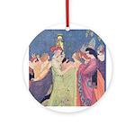 Abbott's Dancing Princesses Ornament (Round)
