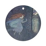 Abbott's Goose Girl at the Well Ornament (Round)