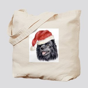 Christmas Swedish Lapphund Tote Bag