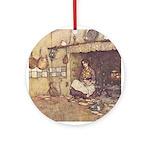 Dulac's Cinderella Ornament (Round)