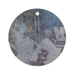 Dulac's Snow Queen Ornament (Round)