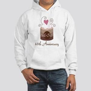 65th Anniversary Cake Hooded Sweatshirt