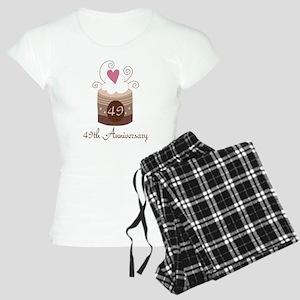 49th Anniversary Cake Women's Light Pajamas