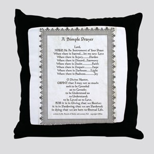 Pope Francis St. Francis SIMPLE PRAYER-Parchment T