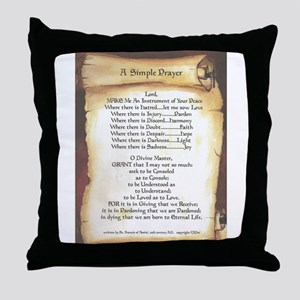 Pope Francis St. Francis SIMPLE PRAYER-Scroll Thro