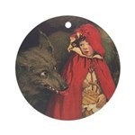 Smith's Red Riding Hood Ornament (Round)