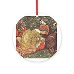 Crane's Beauty & Beast Ornament (Round)