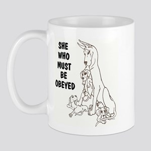 C Obey Mug